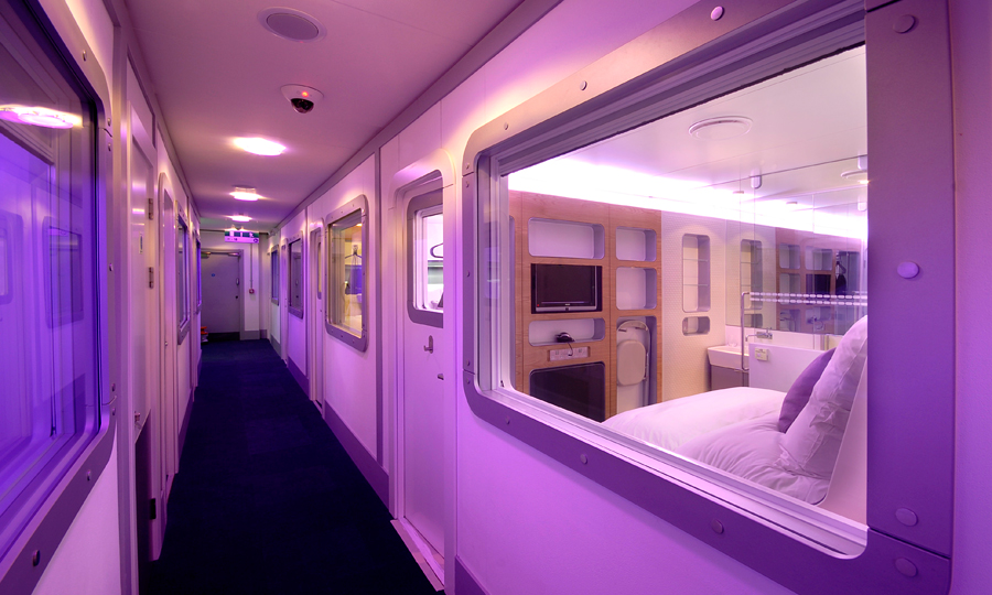 Yotel London Gatwick- Review + Video