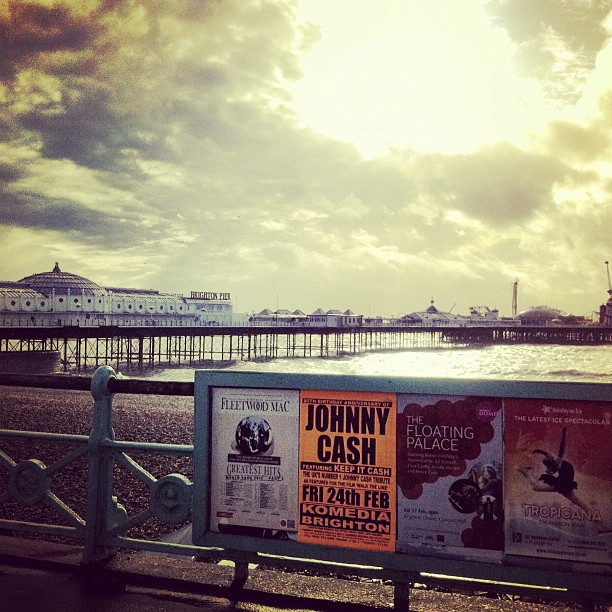 The world famous Brighton Pier.Just a 2 minute walk from umi Brighton