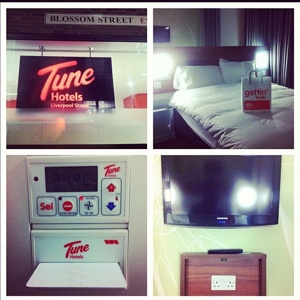 Tune Hotel Liverpool Towels