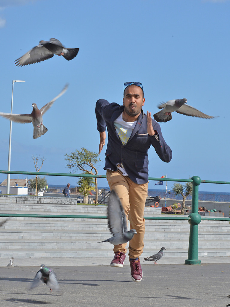 Funchal, 17-03-2015 Kash Battacharya Bloguer que Vive na Madeira Rui Silva / ASpress /