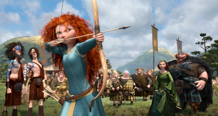 Merida takes aim in Brave