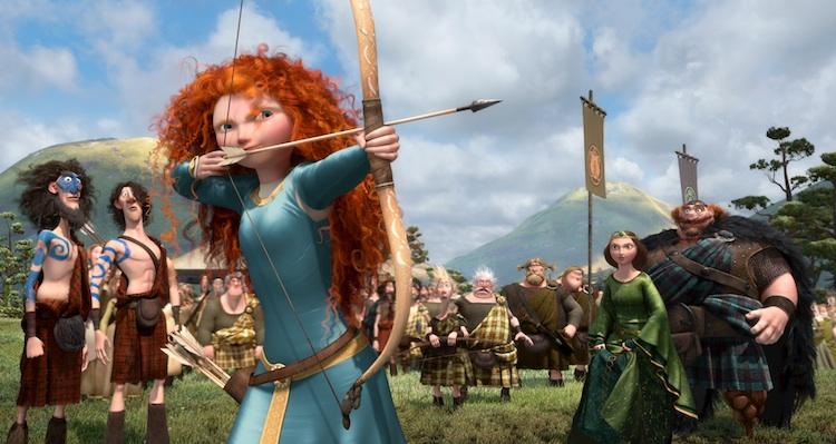 Merida takes aim in Brave