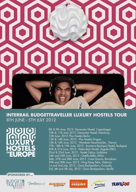 June 8th: Finally….I go Interrailing & Luxury Hostelling