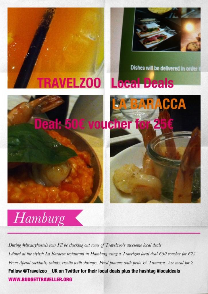 Travelzoo Local Deals: La Baracca, Hamburg reviewed