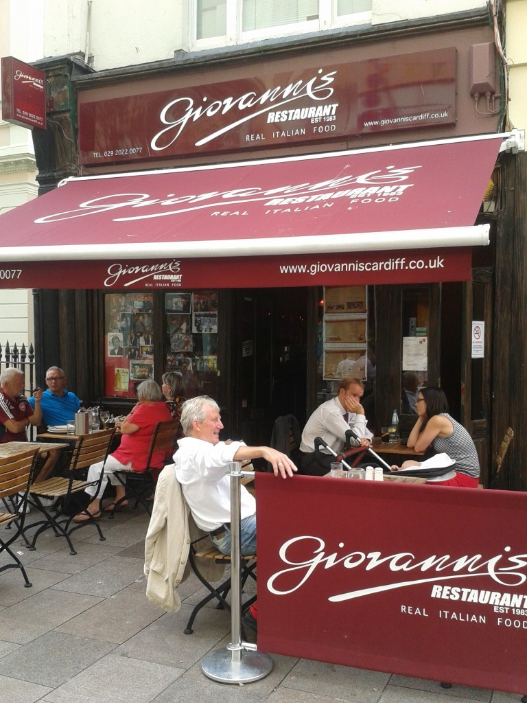 Best italian in Cardiff Giovanni's