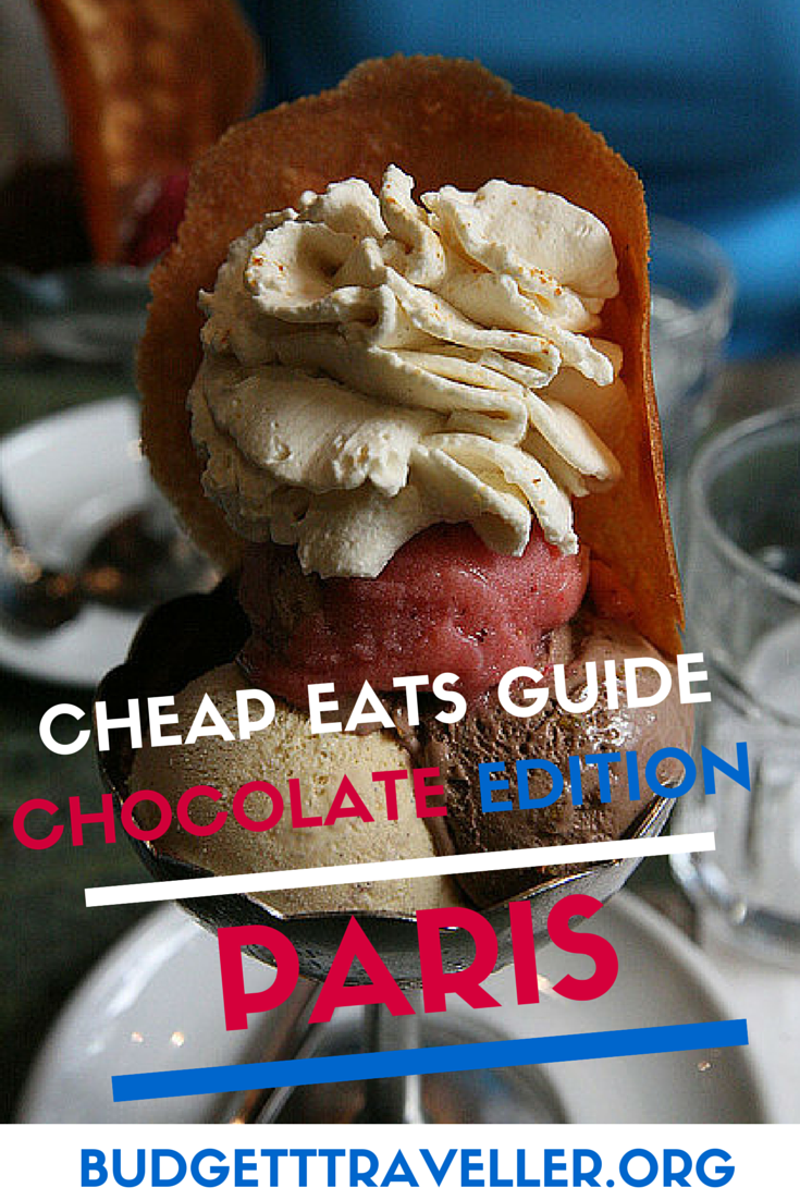 Cheap eats guide to Paris: Chocolate edition