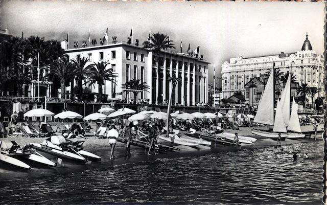Ancien Palais des Festivals in Cannes