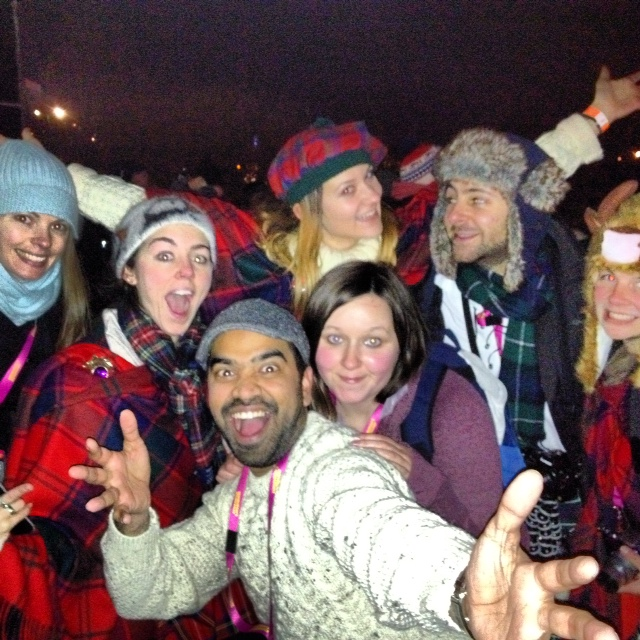 Hello 2013! Blogmanay Bloggers usher in the New Year with their usual crazy expressions