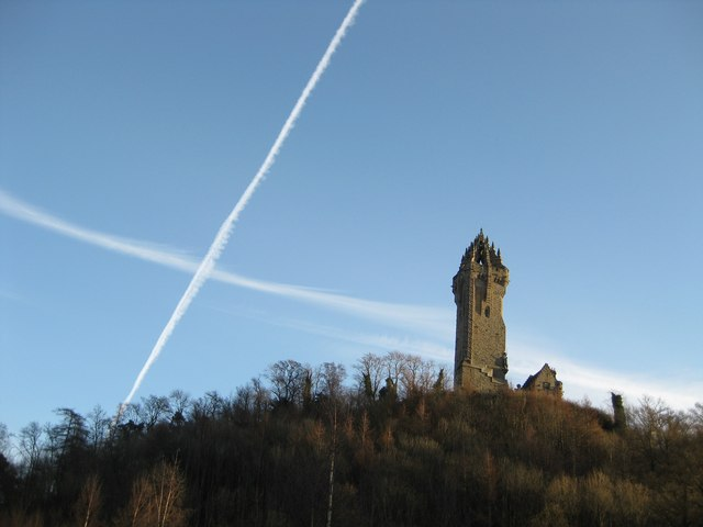 Wallace Monument. Sourced via Creative Commons License: http://www.geograph.org.uk/photo/1342937