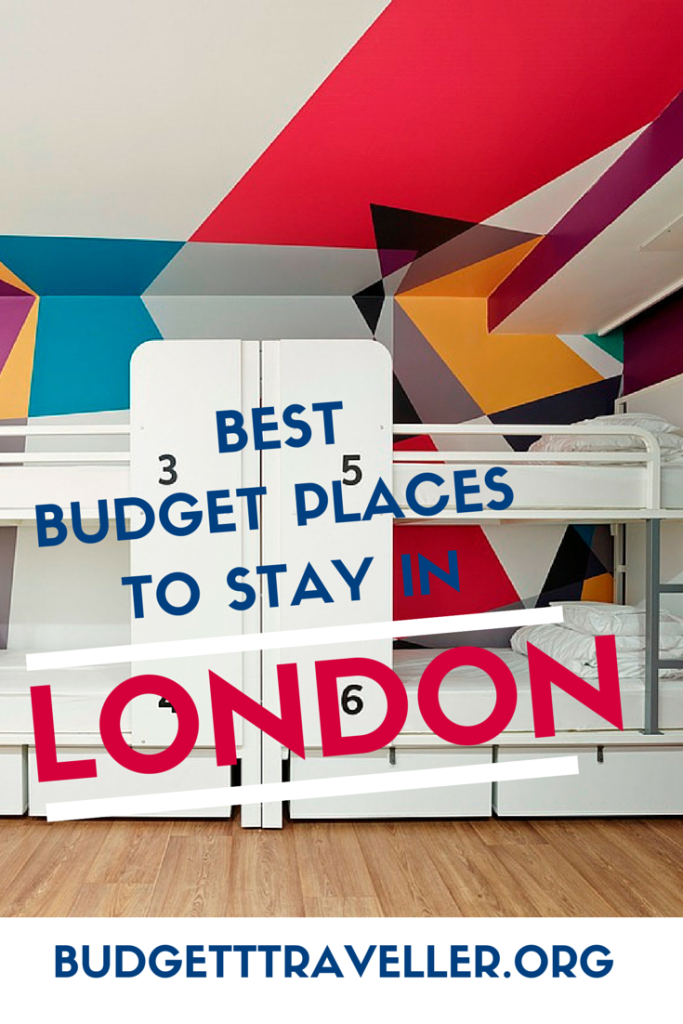 best budget places to stay in London