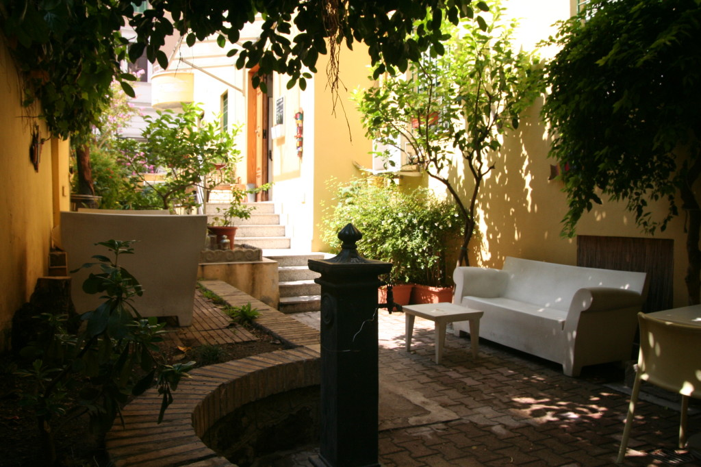 Garden, The Beehive Rome. Photo courtesy of the Beehive Rome.