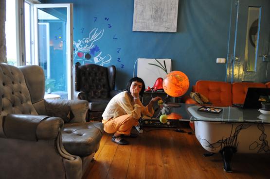 Lounge. Lisbon Calling Hostel