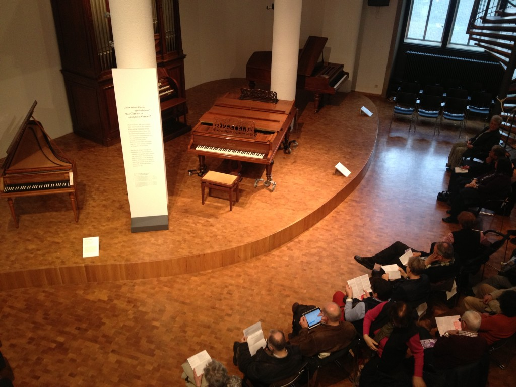 Lunchtime concert at the Instrument Museum