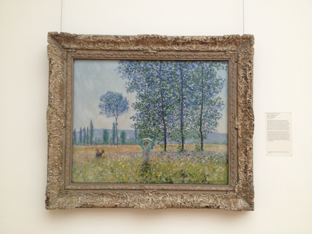 Monet: Sunlight Effect under the Poplars, Staatsgallerie, Stuttgart