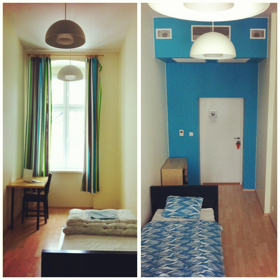 Grampas Hostel, Wroclaw Poland, private room, blue room