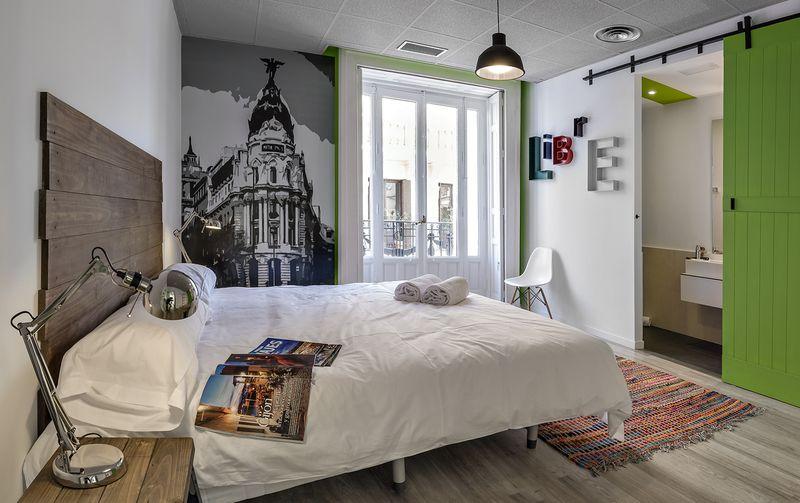 Double Room. U Hostels.