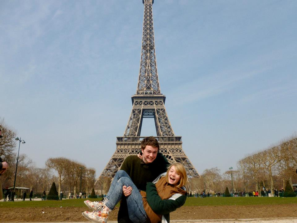 Who says you need money to enjoy the Eiffel Tower...