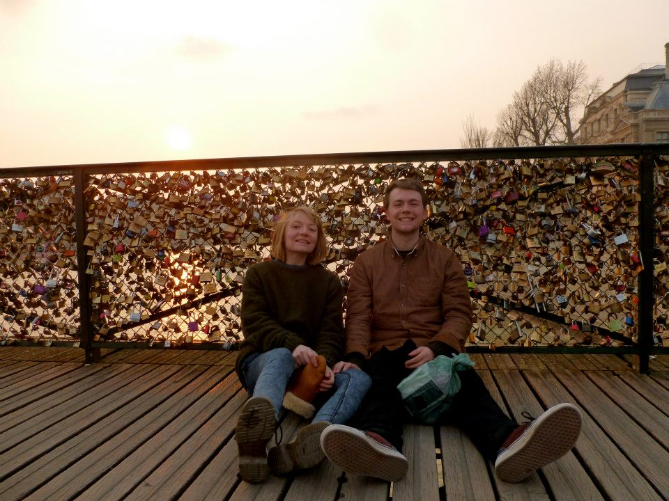 Romance on a budget... cue bridge of locks