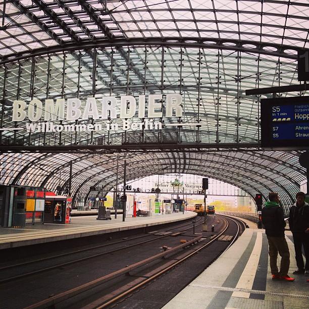 Bombardier-Wilkommen to Berlin