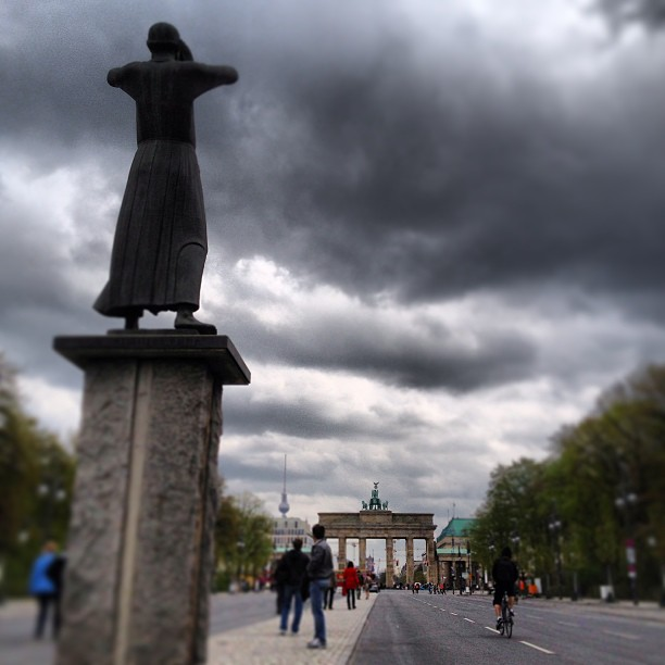 Brandenburg Tor in the distance
