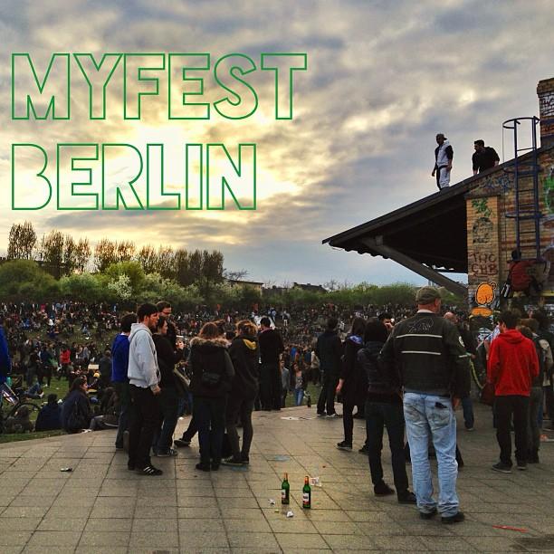 Gorlitzer Park, 'Myfest' aka Mayday