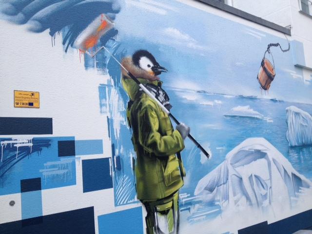 Street art, Das Viertel