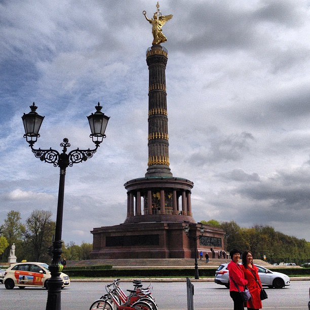 The victory column- 'Goldelse'