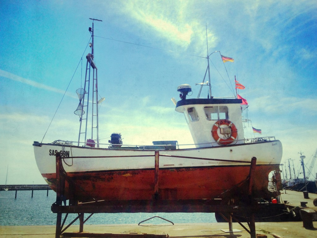 Boats at sassnitz