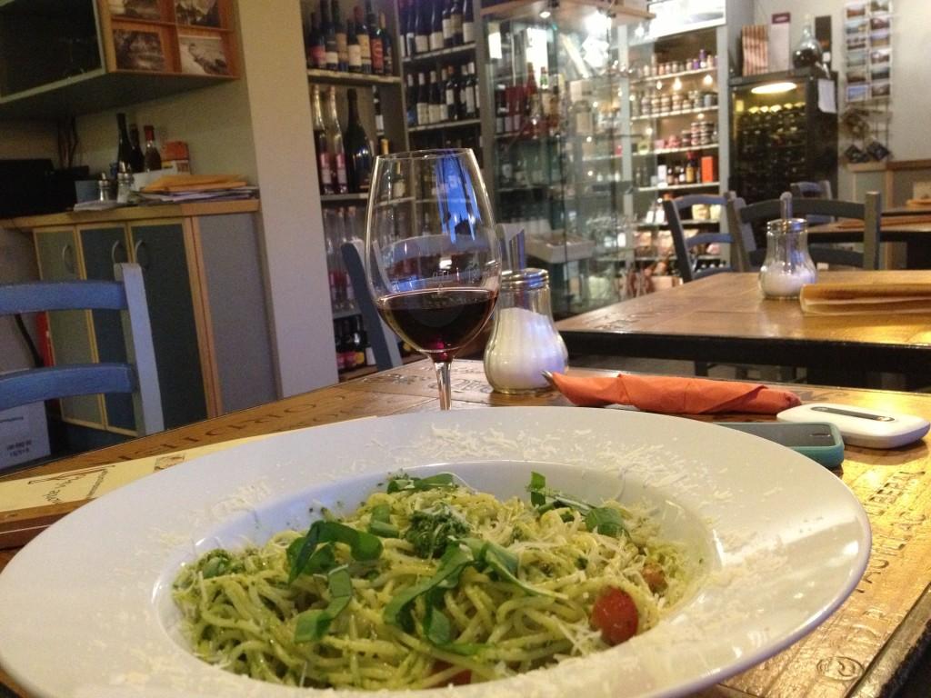 Dinner at Monte Vino, Binz