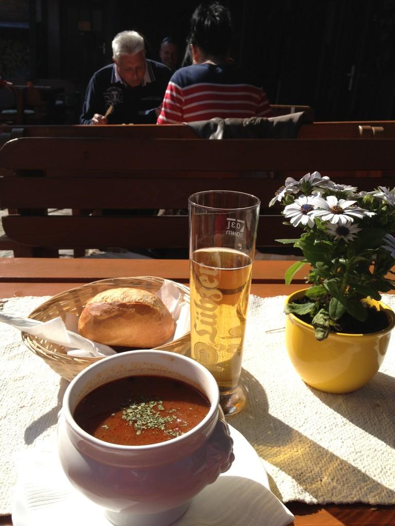 Lunch at Gohren