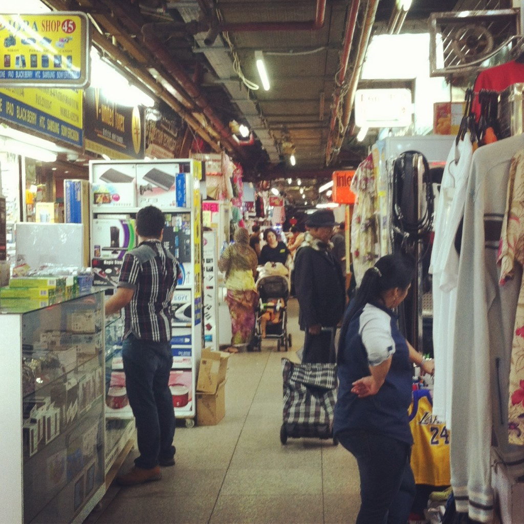 The busy and bustling Chungking Mansions