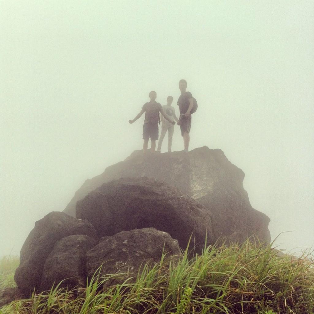 Lantau Island is also great for walking...
