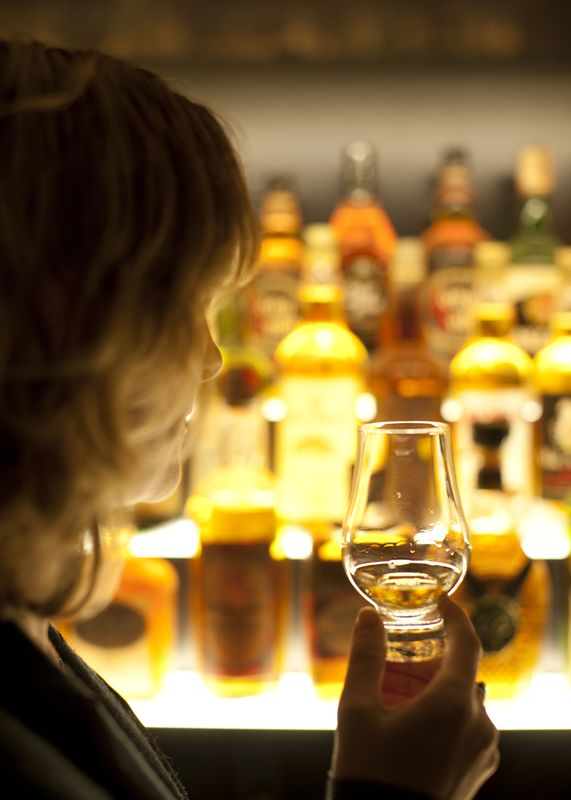 Whisky Tasting at Scotch Whisky Experience