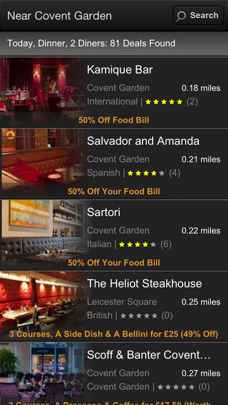 21 best free travel apps for travelling around the uk in for Table pouncer