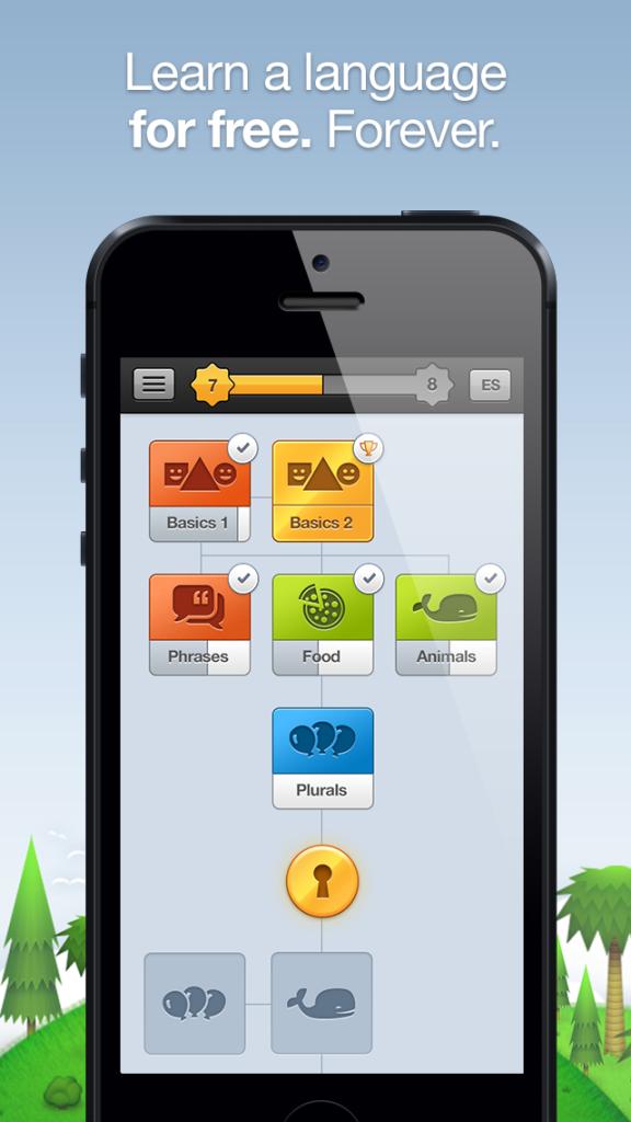 Duolingo- free language app