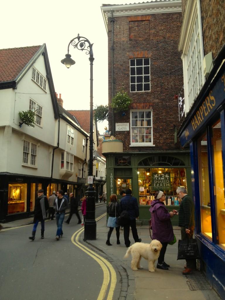 Stonegate, York.