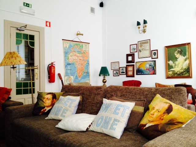 Lounge, Home Hostel Lisbon