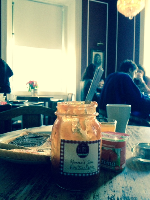 Mamma's amazing pumpkin and nuts jam-one good reason to visit Home Hostel Lisbon
