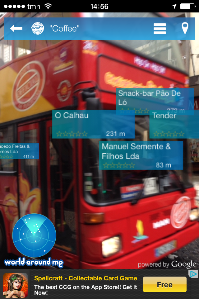 World Around Me- Augmented Reality Apps