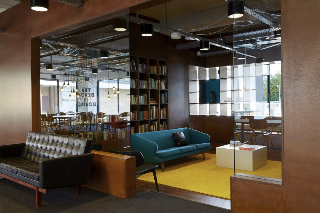 Library. The Student Hotel, Amsterdam