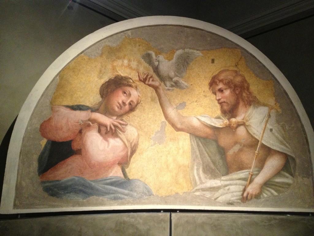 Corononation of the Virgin, Correggio