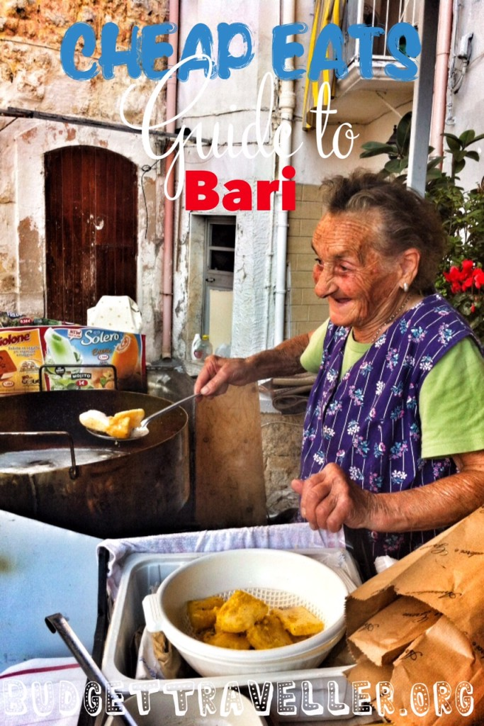 Cheap eats guide to Bari