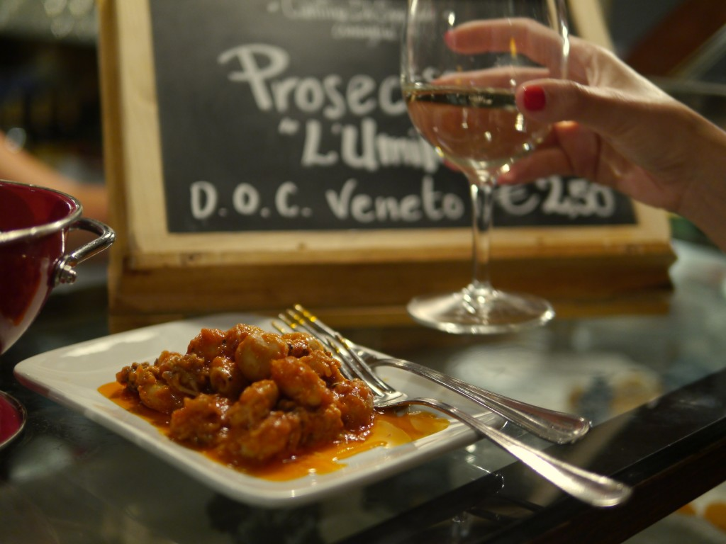 Cichetti- delicious and cheap Venetian tapas