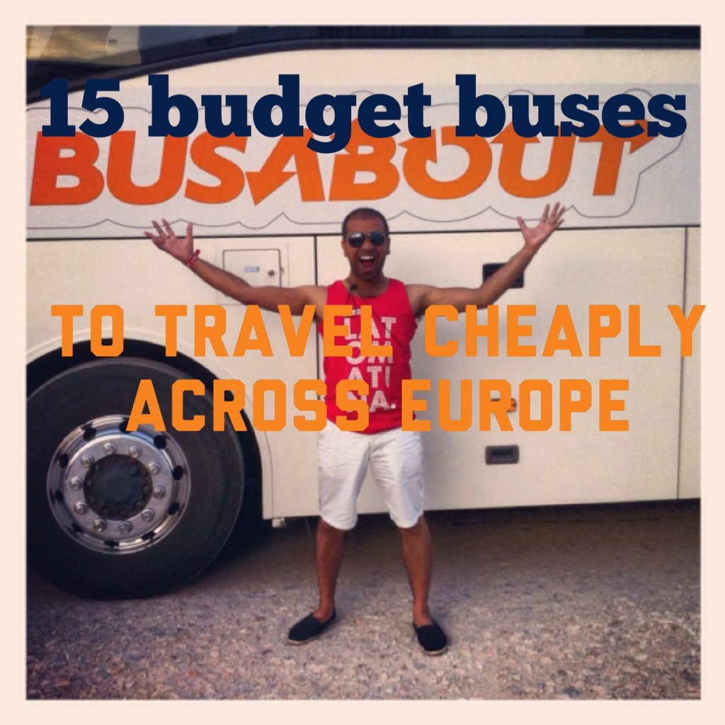 15 budget bus companies to check out on your next trip to Europe
