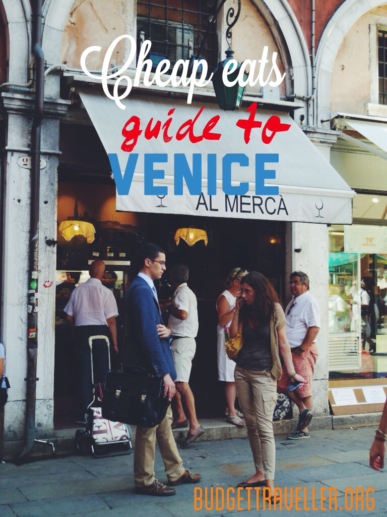 a guide to all the best cicchetti bars- the most budget friendly restuarants in Venice