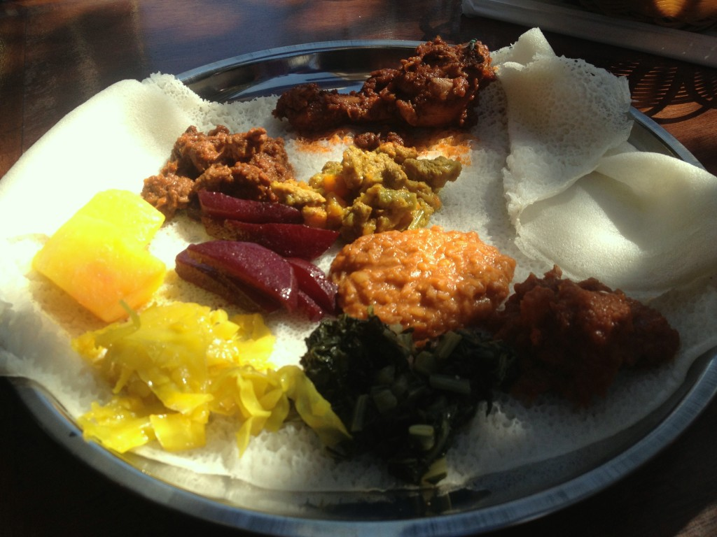 Little Addis on Fox Street is a must try food experience. Serving their famous meat and veggie combo injera platters as well as several traditional ethiopian delicacies, Kassa's kitchen serves up delicious and hearty meals from Tuesday - Sunday.