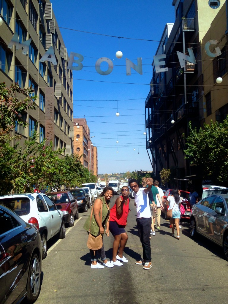 Welcome to the hipster's republic of Maboneng