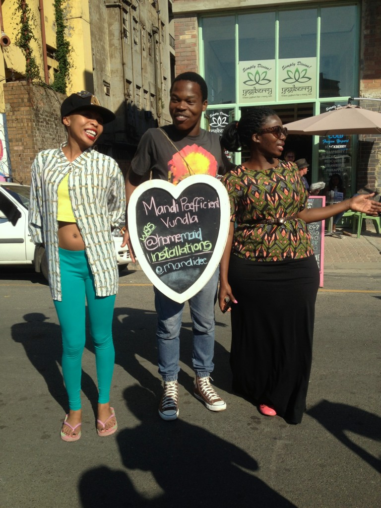 Sundays in Maboneng Precinct: place is buzzing with some cool characters...