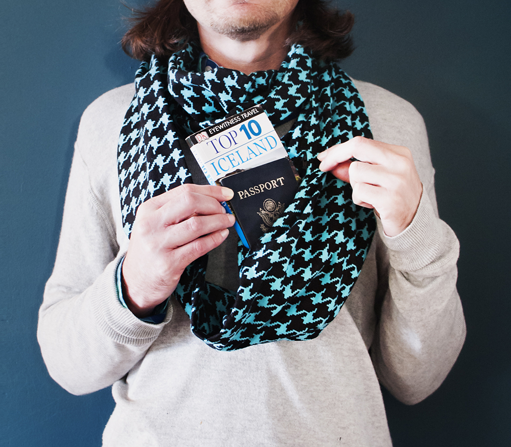 HIdden-pocket-scarf-for-BnB-Blue-Houndstooth-3-copy