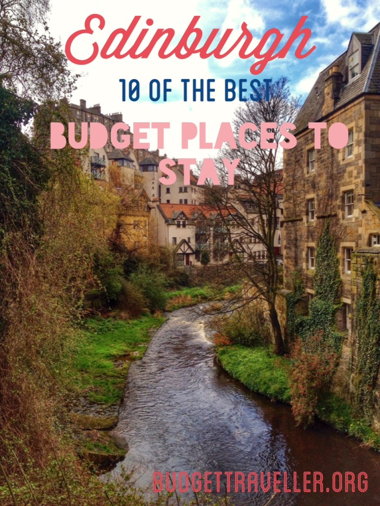 10 of the best budget places to stay in Edinburgh